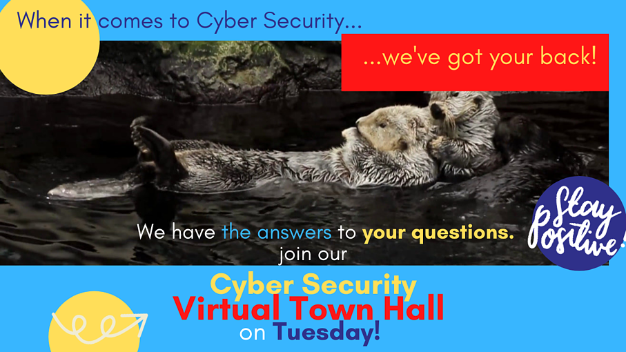 When it comes to Cyber Security...