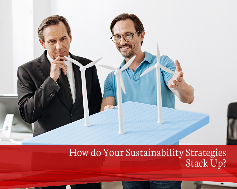 How do Your Sustainability Strategies Stack Up