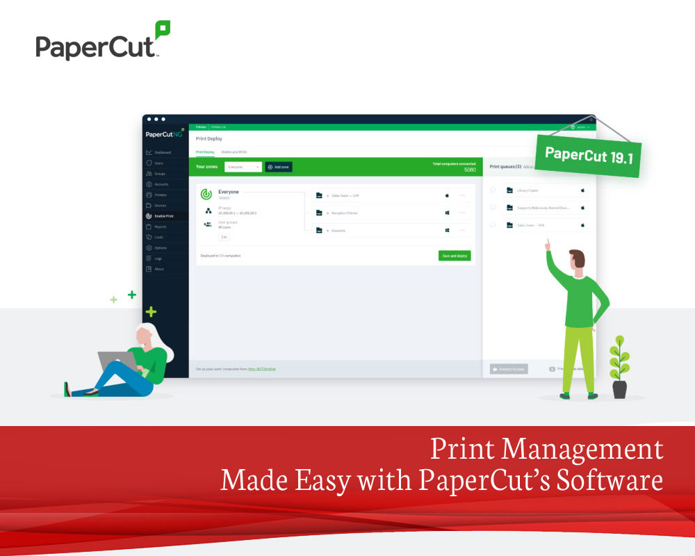 Print Management Made Easy with PaperCut's Software